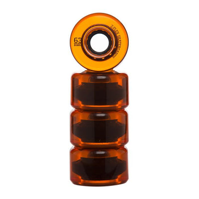 Orange Trans Z-Smooth V2 Wheels