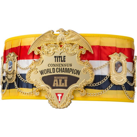 Ali Legacy Consensus World Champion Belt