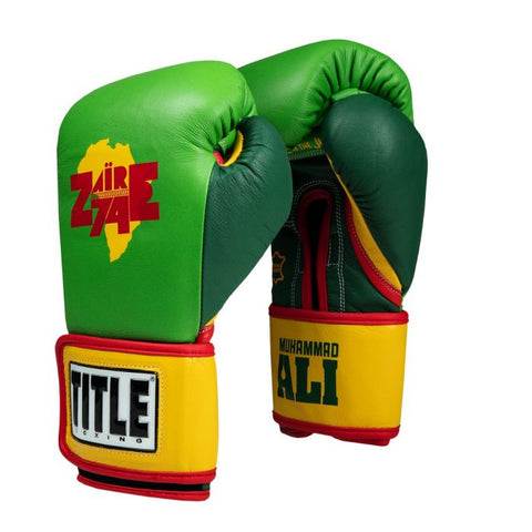 Ali Rumble In The Jungle Training Gloves