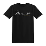 Muhammed Ali Signature T-shirt Black