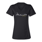 Women's V-Neck Signature Tee