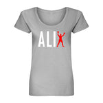 Muhammad Ali Women's Boxing Man Scoop Tee