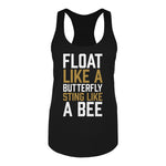 Muhammad Ali Women's Float Like A Butterfly, Sting Like A Bee Tank