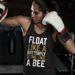 Women's Float Like A Butterfly, Sting Like A Bee Tank