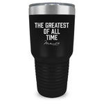 Muhammad Ali Greatest of All Time Tumbler Black