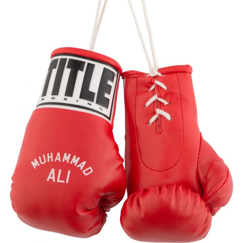 Muhammad Ali Collectible Boxing Gloves Red