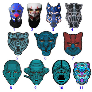 Halloween Full Face Dance Mask