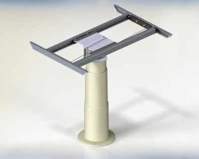 Cosmo 2 Telescopic Table Leg with 4 way Table Top Slider