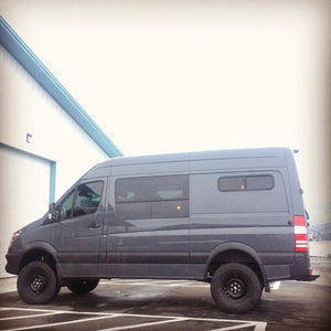 "Striker 4x4 Sprinter Van 2.0"" Suspension Lift System"