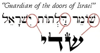 Its also fascinating that if you remove the last letter of this name of God you get a Hebrew word with a very different meaning.  sc 1 st  Mezuzah Store & Is your home secure? Thereu0027s something you may have overlooked...