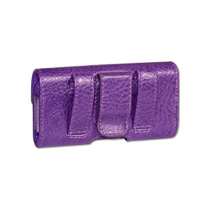 HORIZONTAL POUCH HP1022A MOTOLORA V9 PURPLE 4X0.5X2.1 INCHES