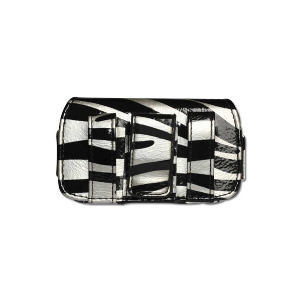 HORIZONTAL POUCH HP106A MOTOLORA V3 ZEBRA 02 4X0.5X2.1 INCHES