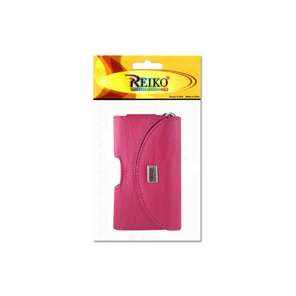 HORIZONTAL POUCH HP146 TREO 650 HOT PINK (4.4X2.3X0.91 INCHES)