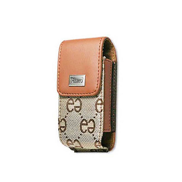 VERTICAL POUCH VP385 LG LX260 BROWN DOUBLE E BROWN 4.3X2X0.7 INCHES