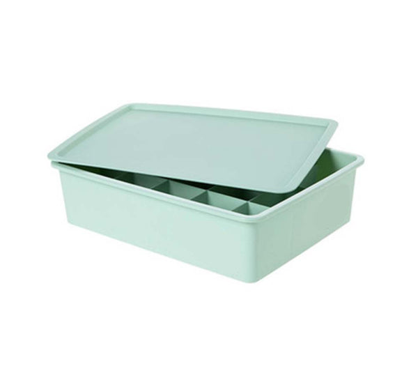 15 Grid With cover Lingerie Green Finishing Box Desktop Storage