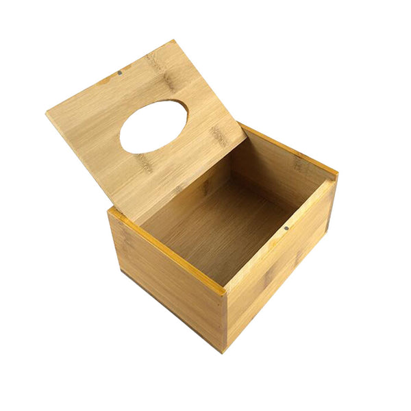 Wooden Unique Pumping Tray Toilet Living Room Car Tissue Box Holder Cover