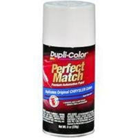 Perfect Match Automotive Paint, Chrysler Bright White, 8 oz Aerosol Can