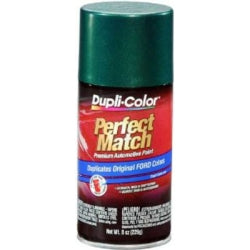 Perfect Match Automotive Paint, Ford Amazon Green Metallic, 8 oz Aerosol Can