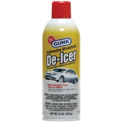 Windshield De-Icer Spray, also Works on Frozen Locks, 12 oz can, 12 per Pack