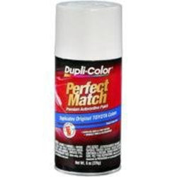 Perfect Match Automotive Paint, Toyota Natural White, 8 oz Aerosol Can