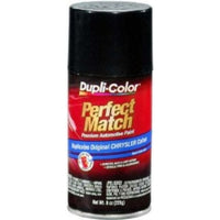Perfect Match Automotive Paint, Chrysler Brilliant Black Pearl, 8 oz Aerosol Can