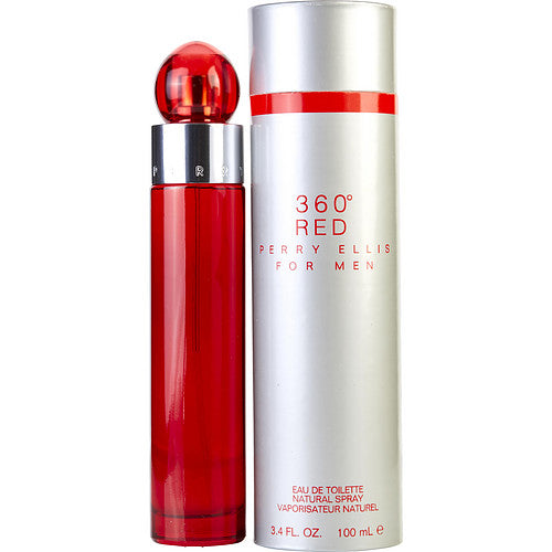 PERRY ELLIS 360 RED by Perry Ellis EDT SPRAY 3.4 OZ