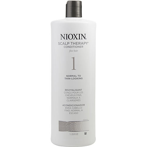 NIOXIN by Nioxin BIONUTRIENT ACTIVES SCALP THERAPY SYSTEM 1 FOR FINE HAIR 33.8 OZ (PACKAGING MAY VARY)