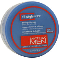 MATRIX MEN by Matrix ALL-STYLE WAX DEFINING SHINE LIGHT HOLD 1.7 OZ