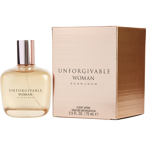 UNFORGIVABLE WOMAN by Sean John PARFUM SPRAY 2.5 OZ