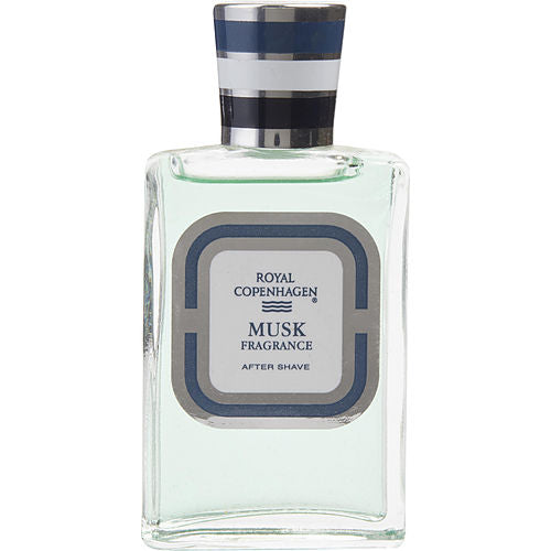 ROYAL COPENHAGEN MUSK by Royal Copenhagen AFTERSHAVE LOTION 1 OZ (UNBOXED)