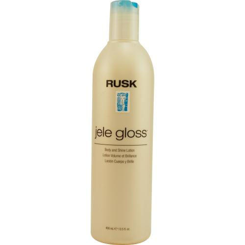 RUSK by Rusk DESIGN SERIES JELE GLOSS BODY AND SHINE LOTION 13.5 OZ