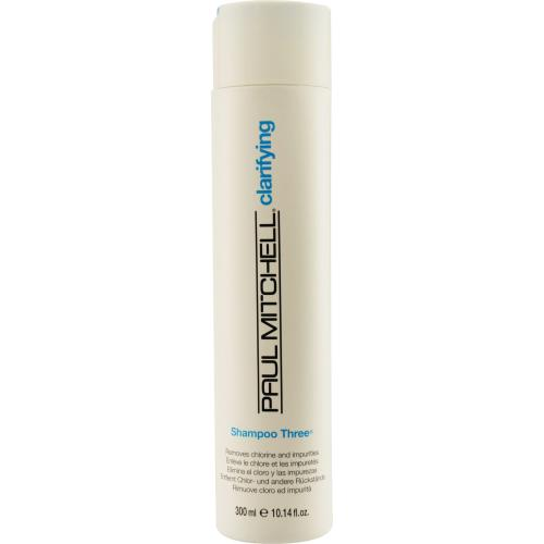 PAUL MITCHELL by Paul Mitchell SHAMPOO THREE REMOVES CHLORINE AND IMPURITIES 10.14 OZ