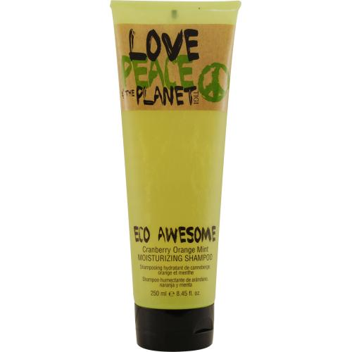LOVE PEACE & THE PLANET by Tigi ECO AWESOME MOISTURIZING SHAMPOO 8.45 OZ