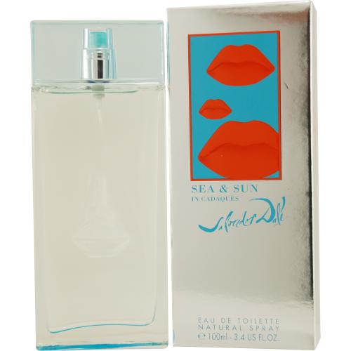 SEA AND SUN IN CADAQUES by Salvador Dali EDT SPRAY 3.4 OZ