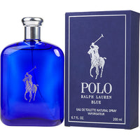POLO BLUE by Ralph Lauren EDT SPRAY 6.7 OZ