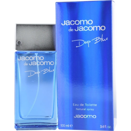 JACOMO DE JACOMO DEEP BLUE by Jacomo EDT SPRAY 3.4 OZ
