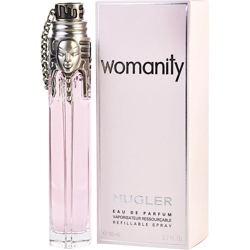THIERRY MUGLER WOMANITY by Thierry Mugler EAU DE PARFUM REFILLABLE SPRAY 2.7 OZ