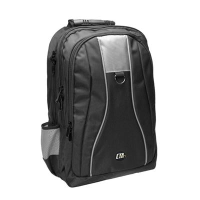 Universal Gaming Bkpk Blk Gry