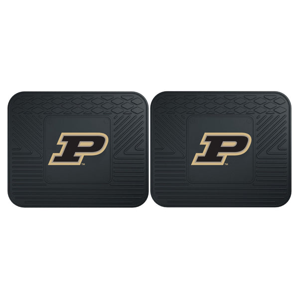 Fanmats Purdue University Backseat Utility Mats 2 Pack