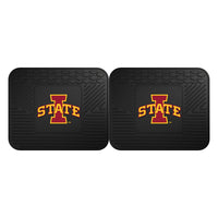 Fanmats Iowa State University Backseat Utility Mats 2 Pack