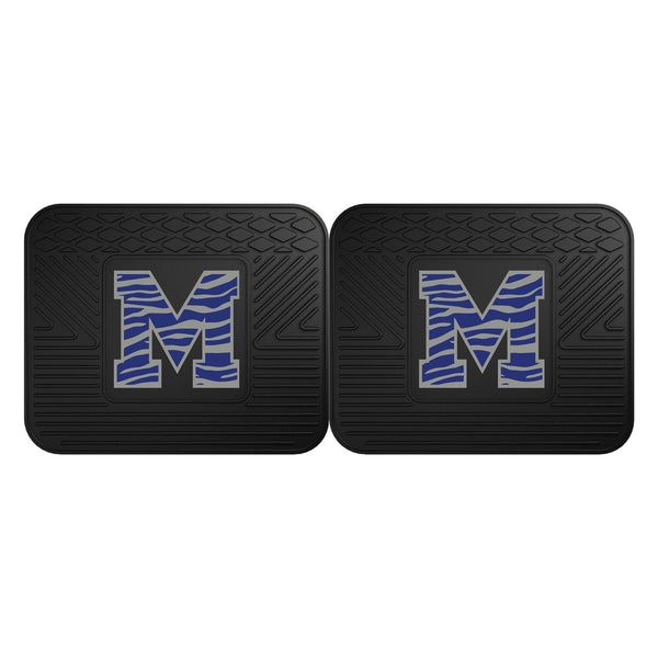 Fanmats University of Memphis Backseat Utility Mats 2 Pack