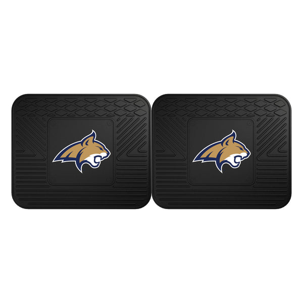 Fanmats Montana State University Backseat Utility Mats 2 Pack