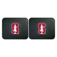 Fanmats Stanford University Backseat Utility Mats 2 Pack