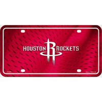 Houston Rockets NBA Embossed Novelty Vanity Metal License Plate Tag Sign