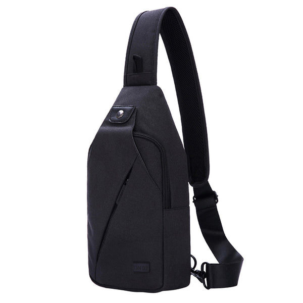 Multi-Functional Fashion Leisure Trend Chest Bag Waterproof Oxford Cloth Shoulder Diagonal Package Sling Bags