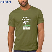 Funny Casual Smell My Feet Best Seller T Shirt Awesome Tshirt Men Cotton Gents Trend Comical