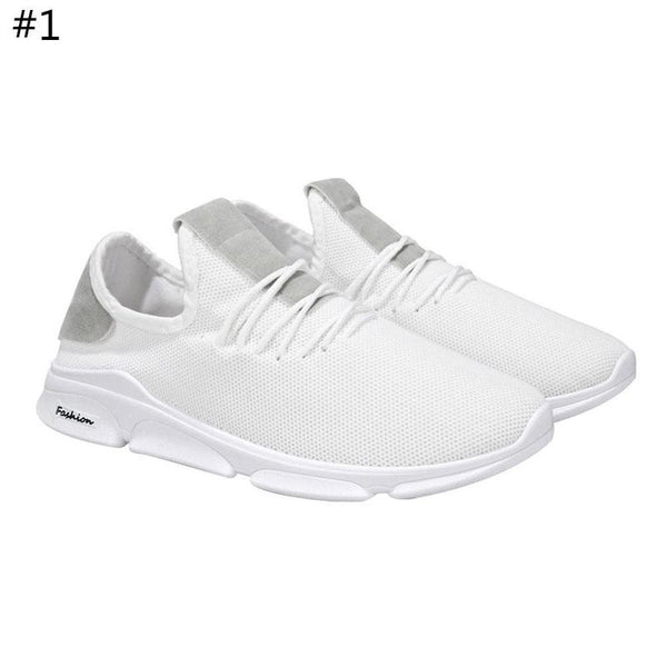 Trend fashion men's casual sports shoes comfort Korean version breathable running shoes