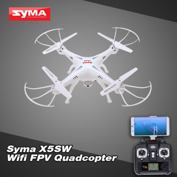 Syma X5SW 4CH 2.4G 6-axis Gyro RC Wifi FPV Quadcopter with 0.3MP Camera