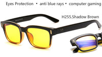 Anti Blue Rays Computer Glasses Men Blue Light Gaming Glasses Protection Myopia Spectacles Prescription Optical