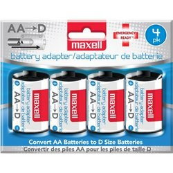 Maxell MBS-D Battery Converter AA to D - 723040